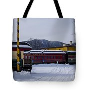 North Conway Nh Scenic Railroad Tote Bag