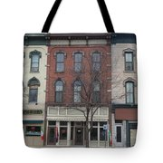 North Country Main Street Of Gouverneur, New York Tote Bag