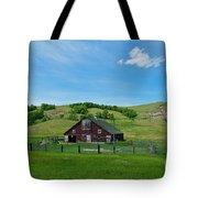 North Dakota Barn Tote Bag