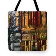 North End At Night Tote Bag