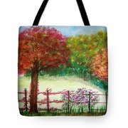 North Fence Tote Bag