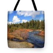 North Fork Deer Creek Tote Bag