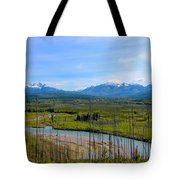 North Fork Flathead River Tote Bag
