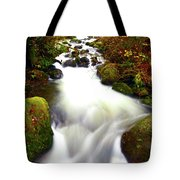 North Fork Of Wallace Tote Bag