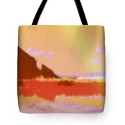 North Friars Bay Diffused Tote Bag