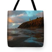 North Head Light Reflections Tote Bag