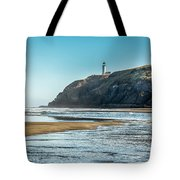 North Head Lighthouse With The Morning Light Tote Bag
