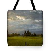 North Idaho Sunrise Tote Bag