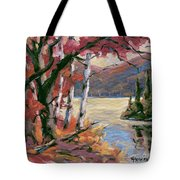 North Lake By Prankearts Tote Bag