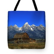 North Moulton Barn Grand Tetons Tote Bag