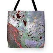 North Of Canada From Space Tote Bag