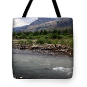 North Of Dubois Wy Tote Bag
