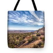 North Of Moab Tote Bag