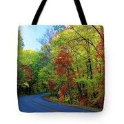 North Of The Folk Art Center In Fall Tote Bag