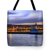 North Pier Evening Tote Bag