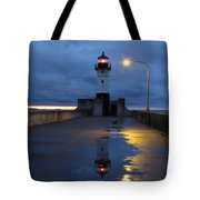 North Pier Reflections Tote Bag