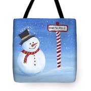 North Pole Tote Bag