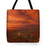 North Rim Storm Clouds Grand Canyon National Park Arizona Tote Bag