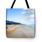 North Sea Beach 3 Tote Bag