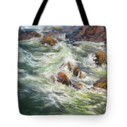 North Shore Drama Tote Bag