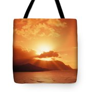 North Shore, Sunset Tote Bag