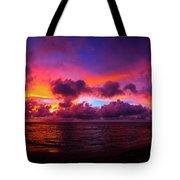 North Shore Sunset  Tote Bag