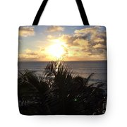 North Shore Sunset Tote Bag