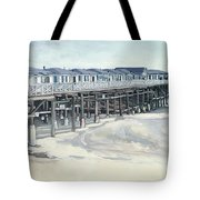 Here And Beyond Tote Bag