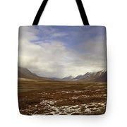 North Slope Dalton Highway Arctic Alaska Tote Bag