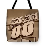 North South 1 Tote Bag