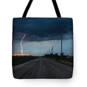 North Talbot Road Lightning Tote Bag