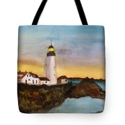 North Truro Light House Cape Cod Tote Bag