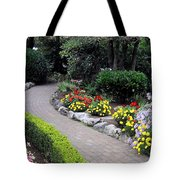 North Vancouver Garden Tote Bag by Will Borden