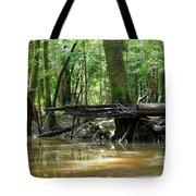 North West Florida Swamp Tote Bag