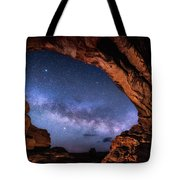 North Window Milky Way Tote Bag