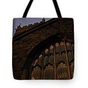 Northampton Church At Dusk Tote Bag
