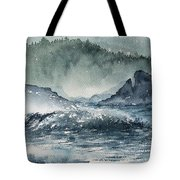 Northern California Coast Tote Bag