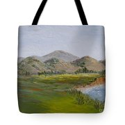 Northern California Coast Line Tote Bag