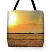 Northern California Sunrise Tote Bag