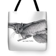Northern Flying Squirrel Tote Bag