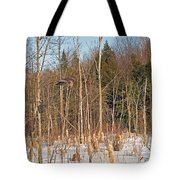 Northern Forests Ghost In-flight Tote Bag