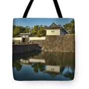 Northern Gate Of Edo Castle Tote Bag