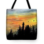 Northern Gold Tote Bag