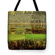 Northern Lake Tote Bag