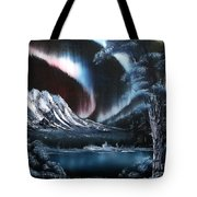 Northern Lights Aurora Borealis Tote Bag
