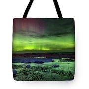 Northern Lights Pendells Creek -7824 Tote Bag