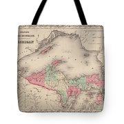 Northern Michigan And Lake Superior Tote Bag