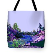 Northern Ontario River Tote Bag