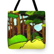 Northern Pathway Tote Bag
