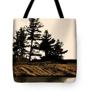 Northern Silhouette Tote Bag